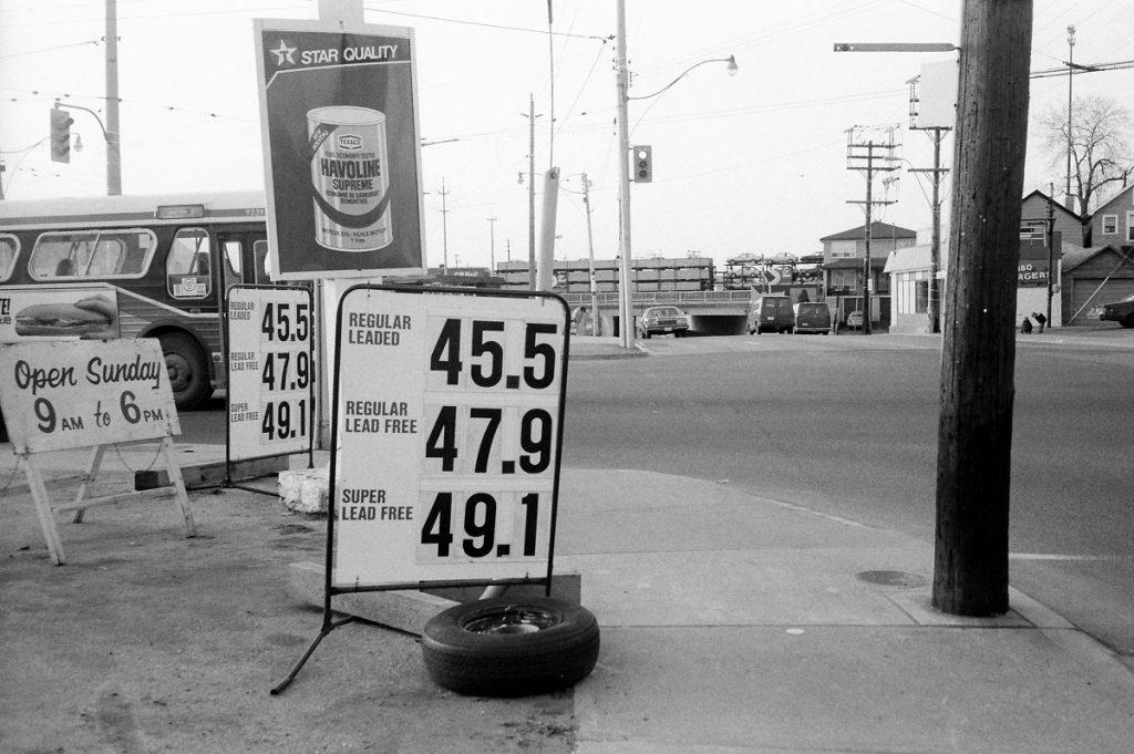Dundas West and Runnymede, Toronto, 1984