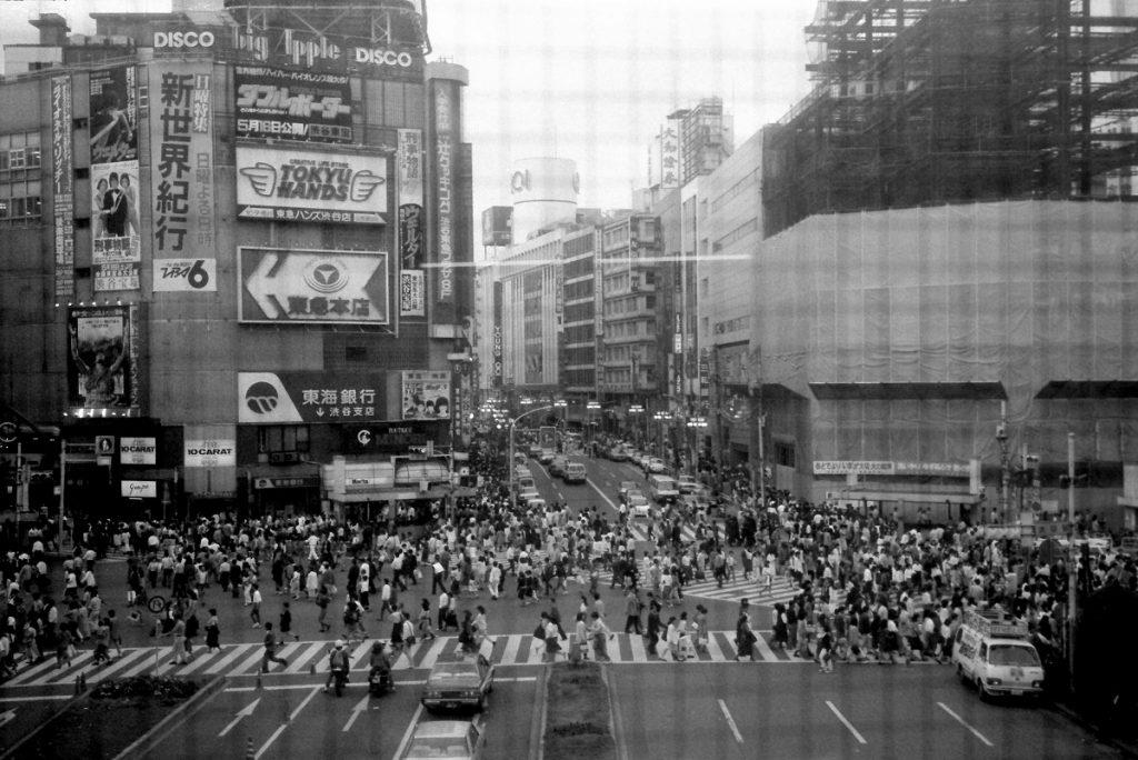 Shibuya, Tokyo, 1987