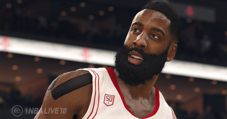 NBA Live 18 screenshot