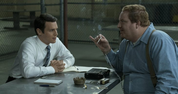 Mindhunter production still