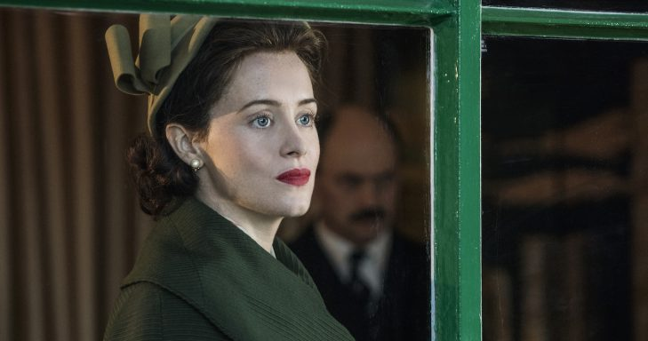 Netflix's The Crown production still