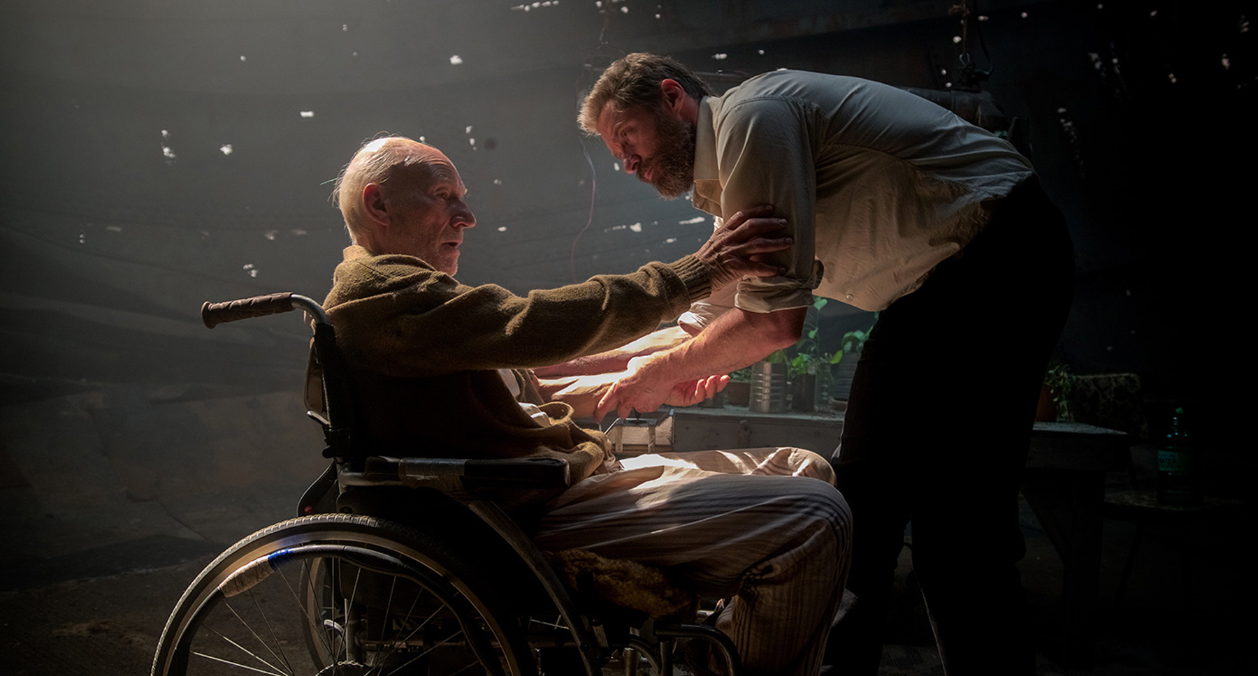 Logan and Professor X